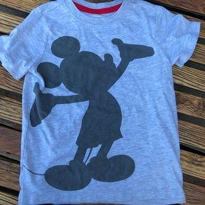 Disney Mickey Mouse gray top